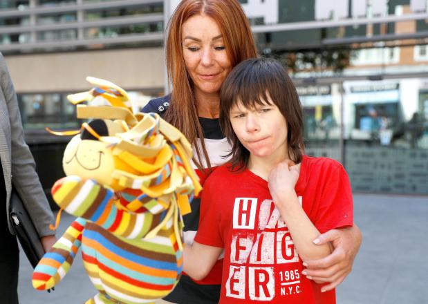 Authorities return cannabis oil for boy's treatment
