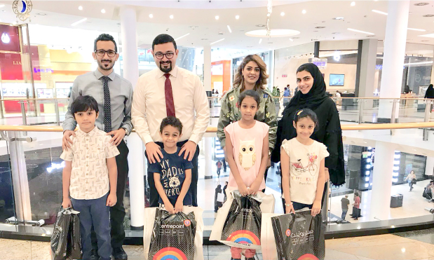 <p>Children at Al Sanabel Orphans Care Society were treated to a shopping and outing by the employees of Solidarity Bahrain. The insurance providers, along with the society, entertained the children on the occasion of Eid as part of the its corporate social responsibility programme. Above, children shopping along with representatives from the society and Solidarity Bahrain.</p>