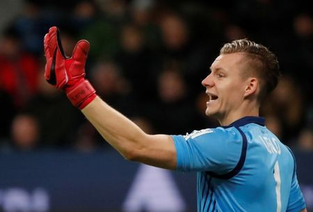 Keeper Leno to leave Bayer for Arsenal