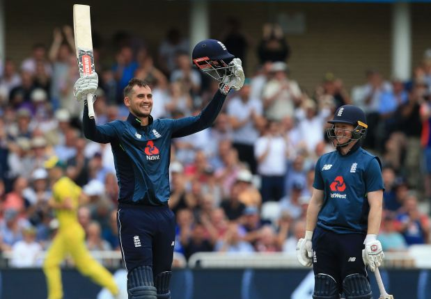 Hales and Bairstow lead England to new ODI record 481-6 against Australia