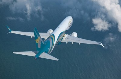 Oman Air takes delivery of third Boeing 737 Max 8