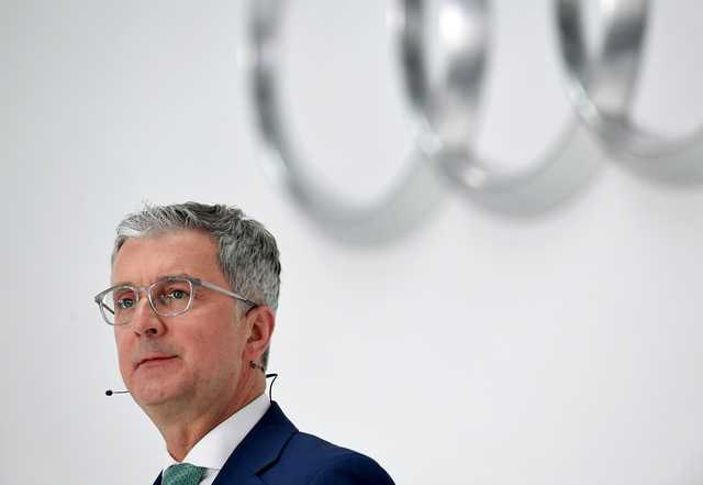 International Business Audi Boss Arrested In Diesel Probe