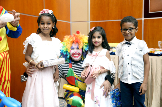 <p>The event included a number of social and entertainment activities, featuring games and distribution of gifts to children</p>