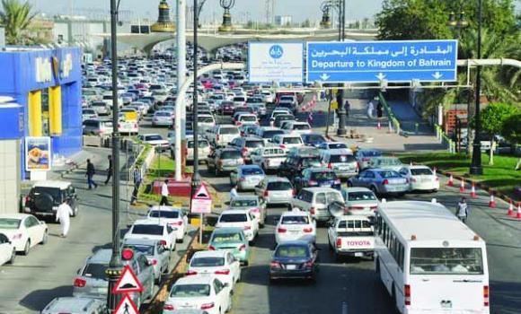 117,935  passengers crossed the Causeway on Monday
