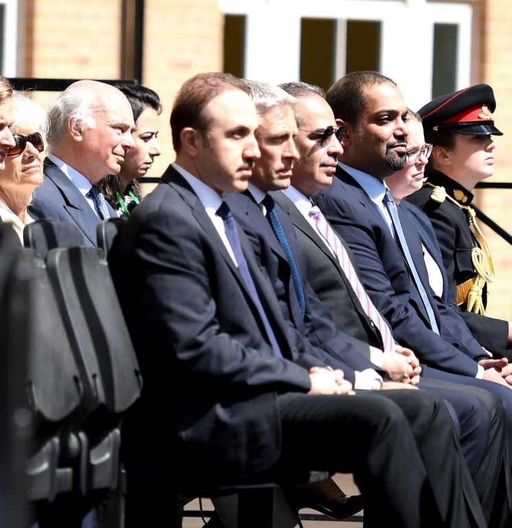 Crown Prince attends handover ceremony of UK's new DNRC