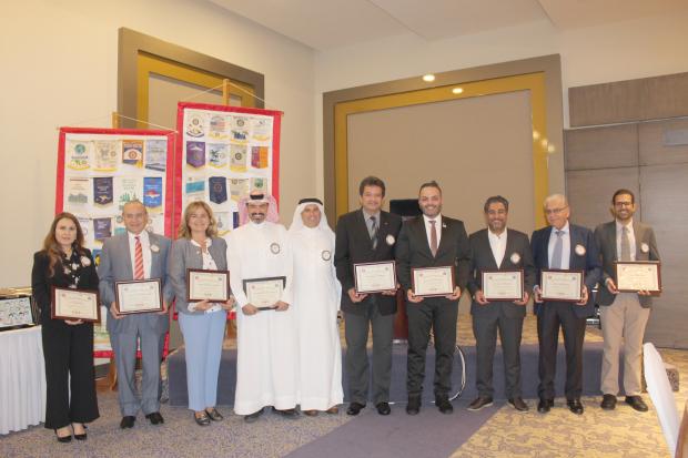 Photo Gallery: Rotary Club of Salmaniya celebrates achievements