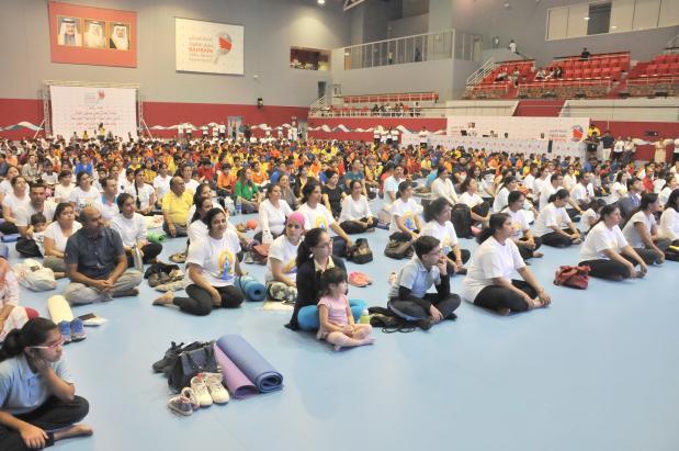 Bahrain marks Yoga Day