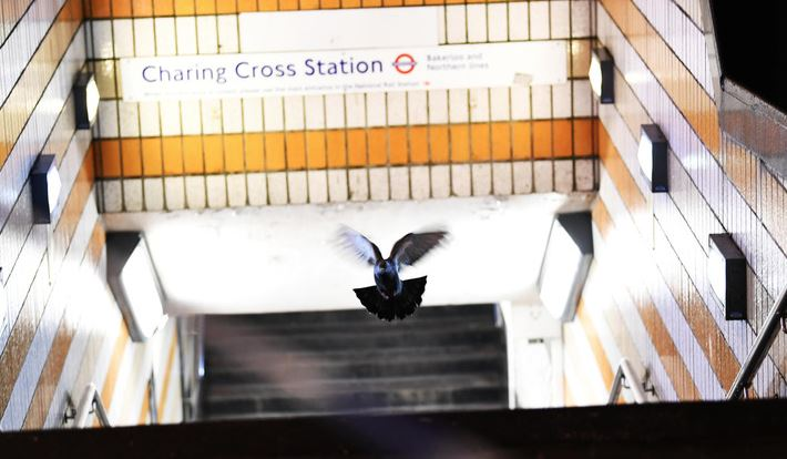 British police arrest man claiming to have a bomb at London rail station