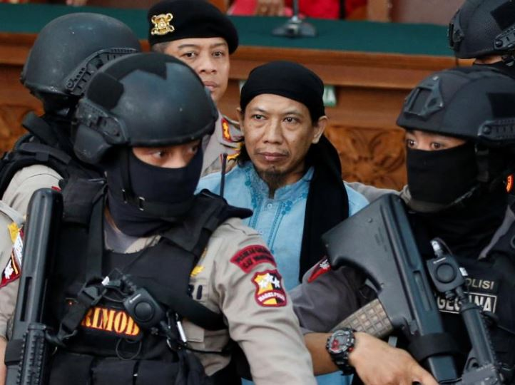 Indonesia hands death sentence to Islamic State-linked cleric for militant attacks