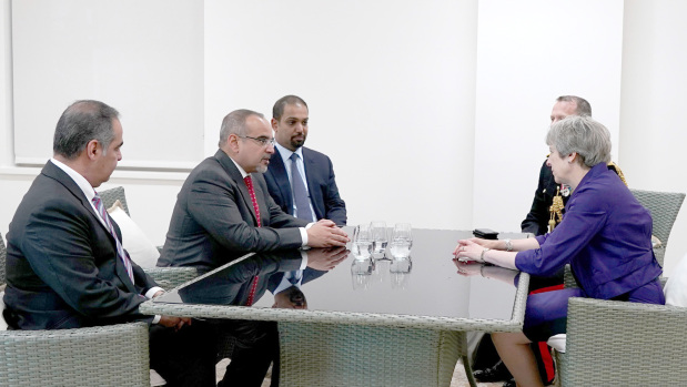 Crown Prince highlights steady growth of UK ties