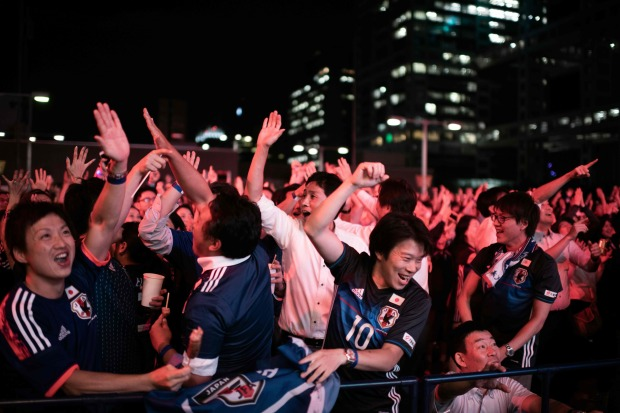 Busted flush: Japan fans spark plumbing pinch in World Cup loo dash