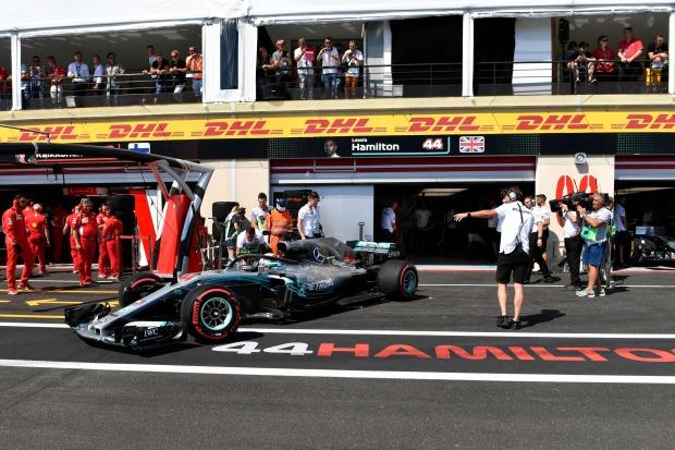 Hamilton heats up French GP