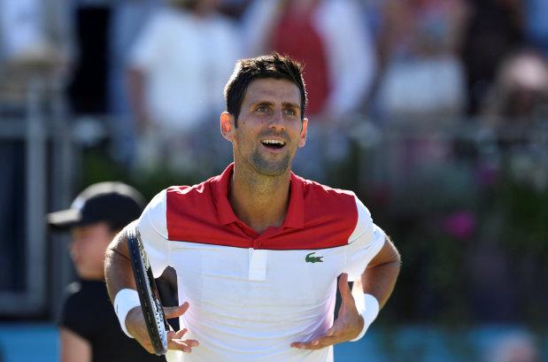 Tennis: Djokovic joins 800-win club