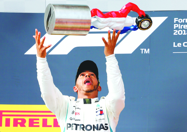 Hamilton retakes lead with victory in French GP