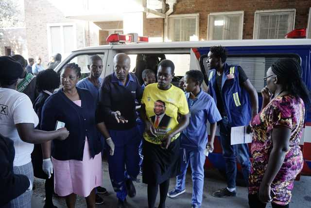 Zimbabwe pledges vote will go ahead despite rally attack
