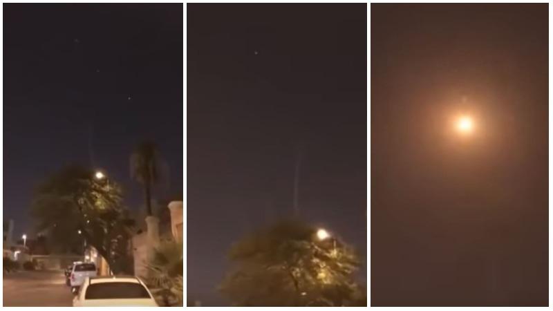 WATCH: Saudi foils ballistic missile attack on Riyadh