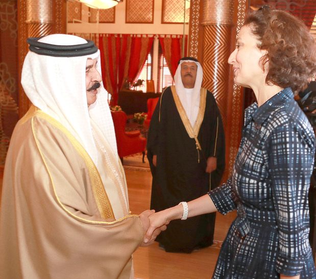King hails Bahrain's status as an oasis of culture