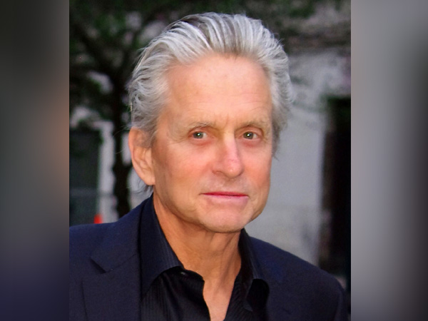 Michael Douglas is his wife's biggest fan