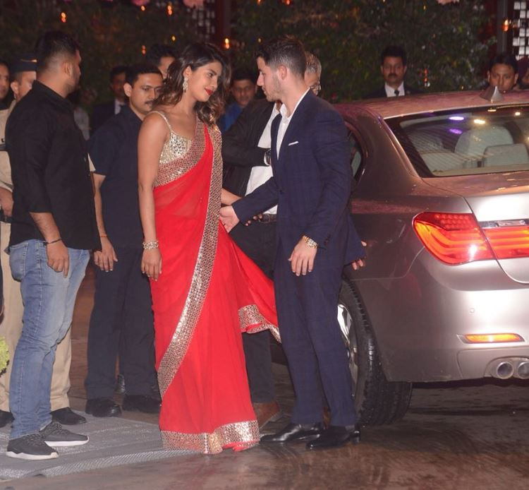 Celebs: IN PICTURES: B-town celebrities make a splash at Akash Ambani's engagement bash