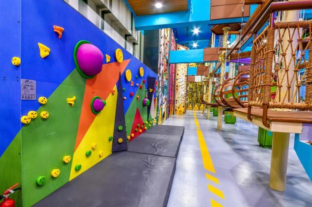 Hi-tech Adventure Hub opens at Galleria Mall