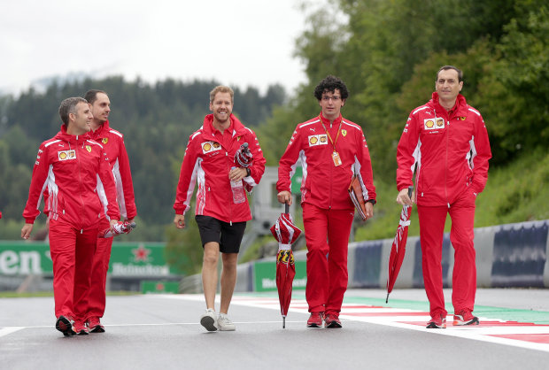 I'm not making too many mistakes says Vettel
