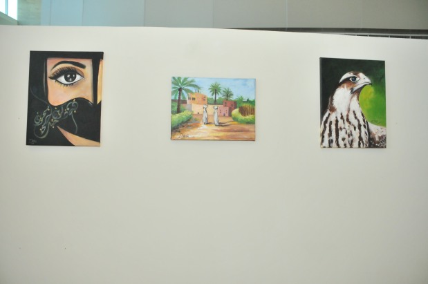 <p><em>Some of the artworks of Dana Mohammed.</em> </p><p>An exhibition showcasing the work of a 13-year-old Bahraini artist was opened yesterday at Bahrain Financial Harbour.</p><div>Fourteen pieces by Dana Mohammed went on display at the show, which was inaugurated by Bahrain Financial Harbour chief executive Angus Campbelle as part of the 26th Art at the Harbour exhibition. </div><div><br></div><div>It is being held at the Harbour Gate's south entrance and will run for a month. </div>