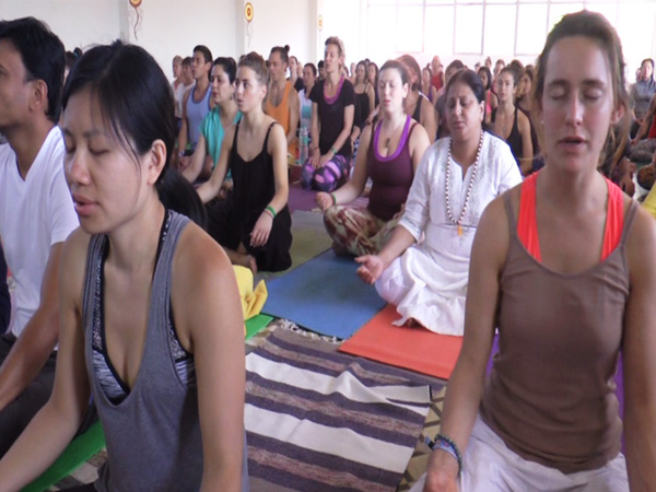 Yoga attracting foreign tourists to India