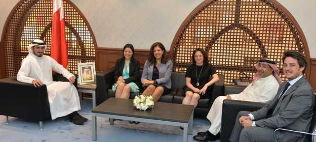 Photo Gallery: A delegation from UNWTO met BTEA chief executive Shaikh Khalid bin Humood Al Khalifa
