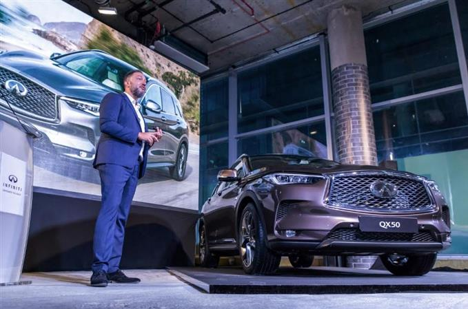 Infiniti unveils the all-new QX50 in the Middle East