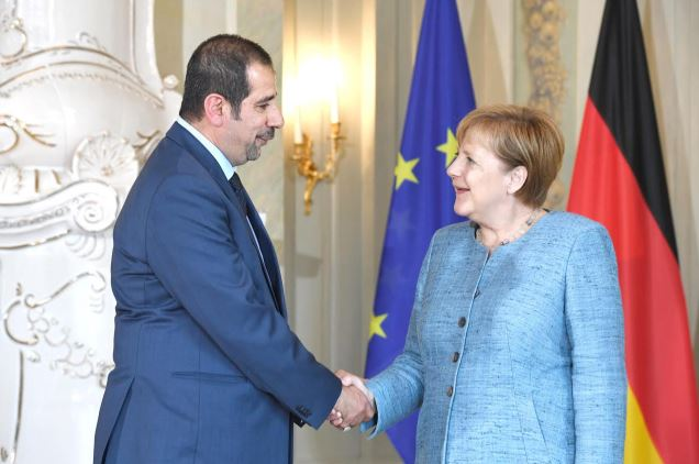 <div>Bahrain's ambassador to Germany Abdulla Abdullatif Abdulla joined a reception hosted by German Chancellor Angela Merkel at the Meseberg Palace for accredited ambassadors to the country. The chancellor spoke about Germany's efforts within the European Union, its co-operation with other countries, its foreign policy and the challenges it faces including terrorism and the agreement between the US and North Korea.</div>