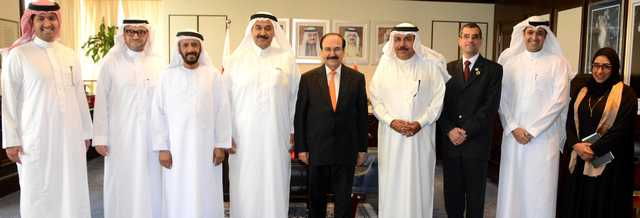 <p>Electricity and Water Affairs Minister Dr Abdulhussain Mirza received a delegation from the Royal Emirates, a company specialised in a number of engineering fields, including the development of renewable energy applications. The minister was briefed about activities and programmes of the company and co-operation between the Electricity and Water Authority and the Sustainable Energy Unit in existing and future projects, in particular the marketing of the company's services in all aspects related to energy, electricity and infrastructure strategies. The minister gave a presentation on government plans and projects.</p>