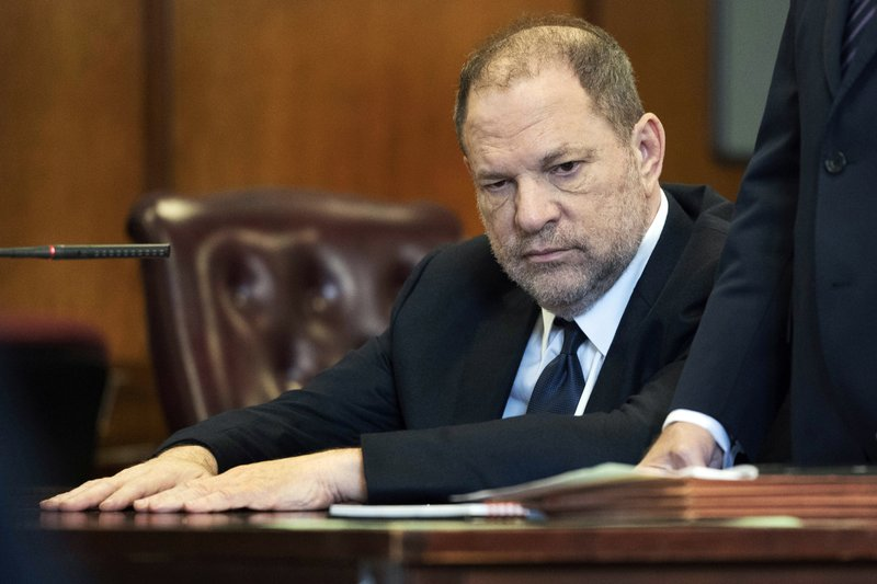 Weinstein due in court on charges he assaulted a third woman