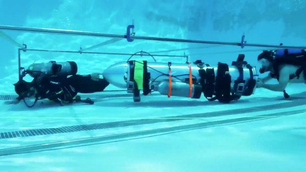 VIDEO: Elon Musk proposes mini-submarine to save Thai cave boys