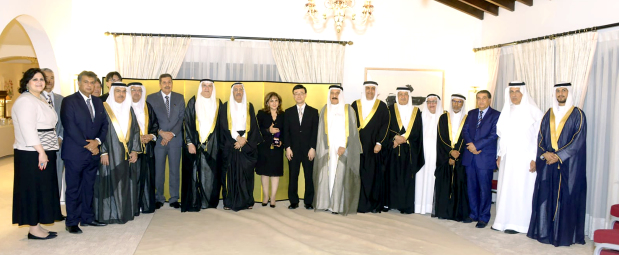 Photo Gallery: Japanese award for late Mubarak Kanoo
