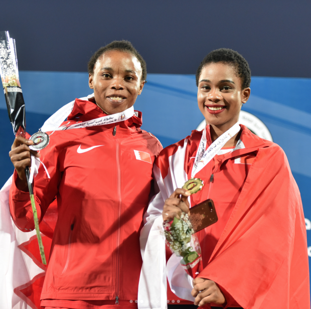 West Asian Athletics: Shitaye and relay teams claim gold
