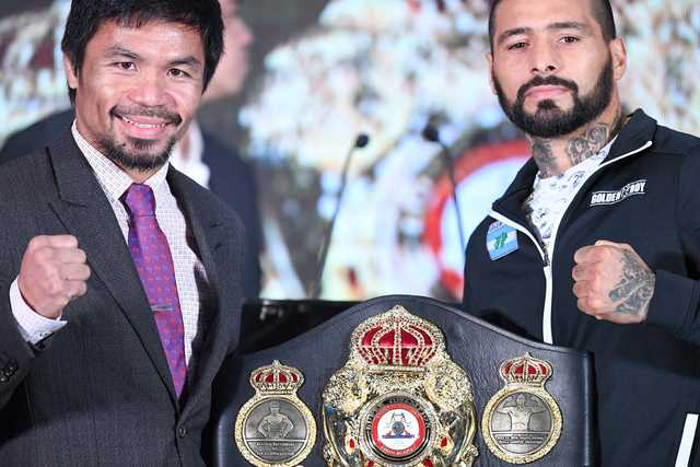 Pacquiao beware! I'm going home with my belt says Matthysse