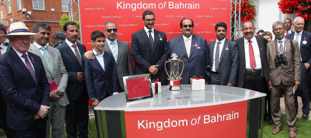 Wells Farhh Go wins Bahrain Trophy at Newmarket festival