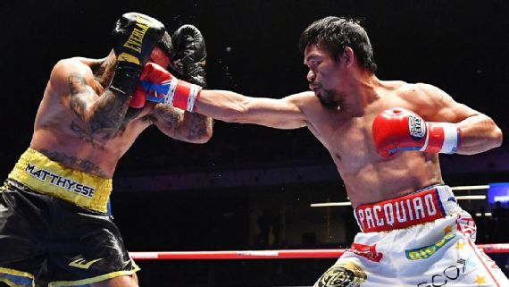 Filipinos celebrate as Pacquiao KOs Argentinian champion, bags title