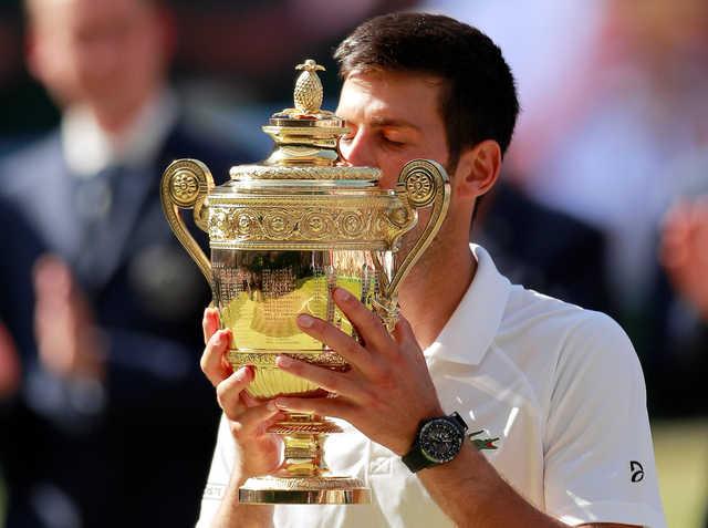 Djokovic beats Anderson to win fourth Wimbledon title