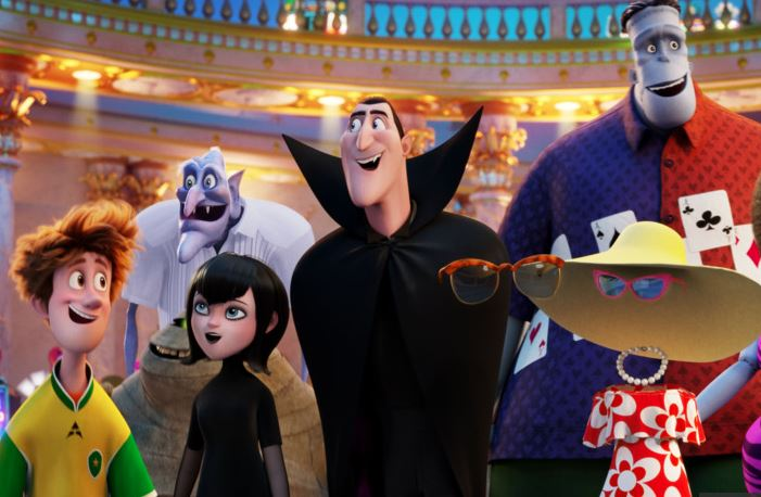 'Skyscraper' gets rocky start as 'Hotel Transylvania 3' checks in at number one