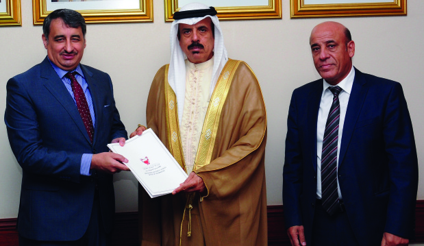 <p><em>At the presentation are, from left, Prof Otoom, Dr Al Nuaimi and Dr Al Showaikh</em></p>