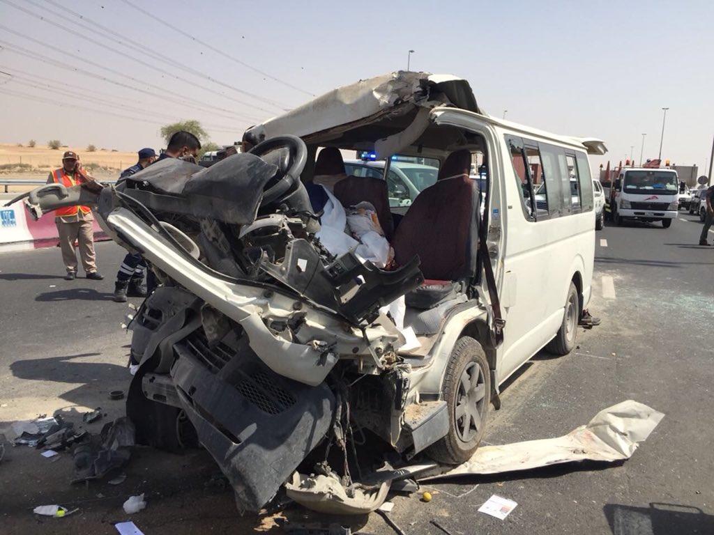 Truck-van collision leaves three dead