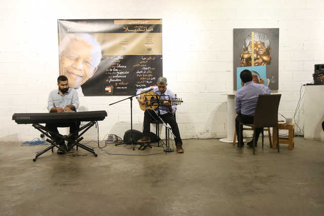 VIDEO: Bahraini Artists commemorate Nelson Mandela International Day
