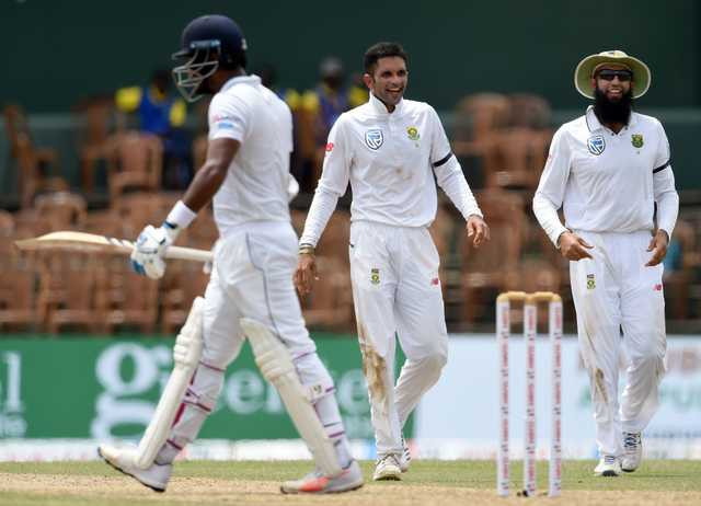 Maharaj's eight lifts South Africa