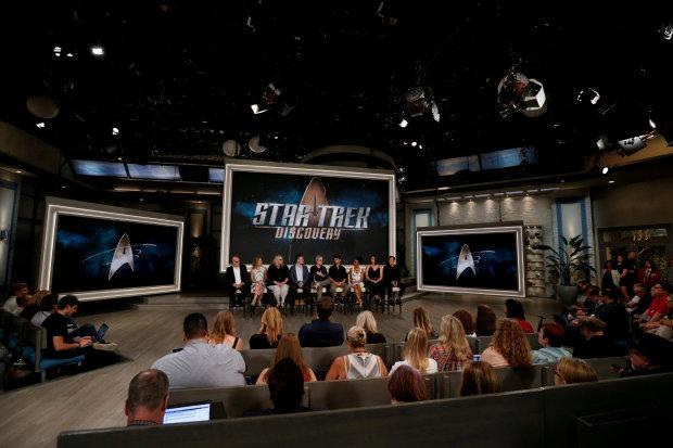 CBS announces four-part series of short 'Star Trek' episodes