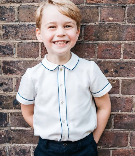 Prince George looks adorable in fifth birthday portrait