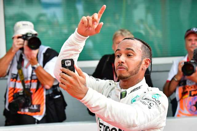 'MIRACLE VICTORY': Hamilton reclaims title lead as Vettel crashes out