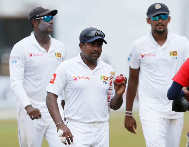Herath spins Sri Lanka to series sweep despite de Bruyn ton