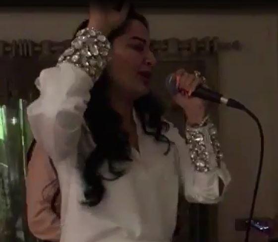 Video: Maanayata sings 'Kya Yahi Pyaar Hai' for Sanjay Dutt