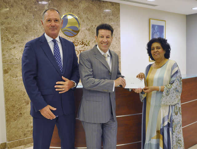 Photo Gallery: Gulf Hotel Group donated BD1,000 to Child Care Home